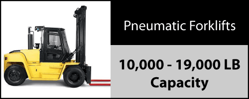 Click to view our inventory of 10,000 - 19,000 LB Pneumatic