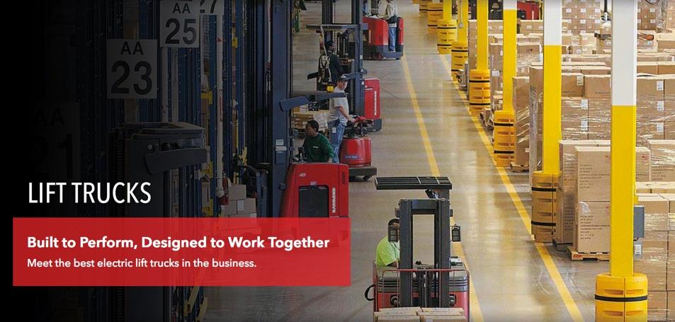 Raymond Forklifts Sun Equipment