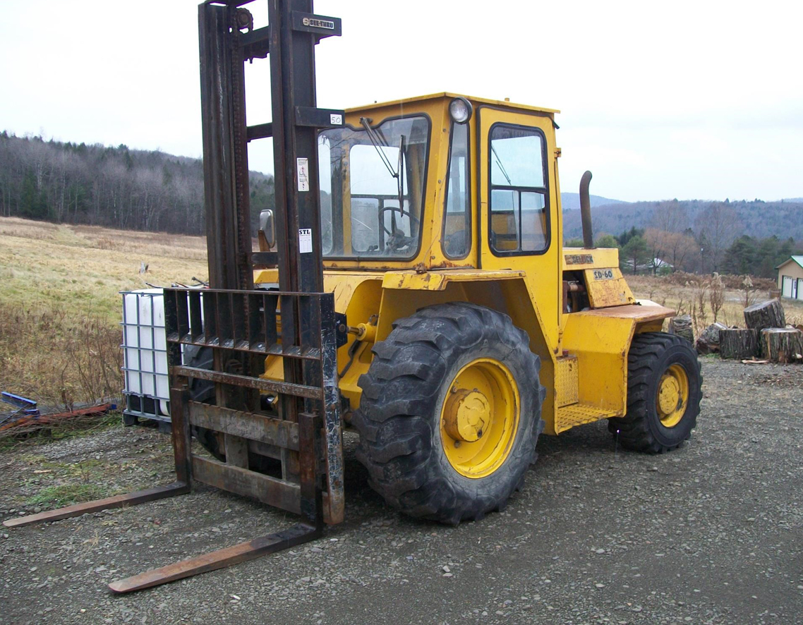 2007 JCB 520-50, Rough Terrain Forklift, Diesel Engine, 4-Wheel Drive, 4-Wheel Steer, Lower Hours, Excellent Condition