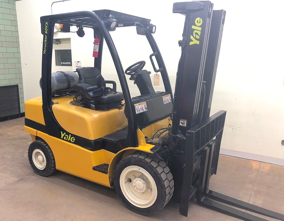 Yale Forklifts manual glp060